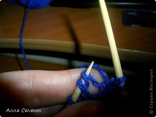 Гардероб Мастер-класс Вязание спицами Вязание тапочек-следочков Пряжа фото 18