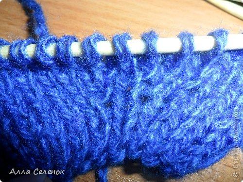 Гардероб Мастер-класс Вязание спицами Вязание тапочек-следочков Пряжа фото 21