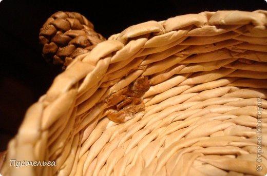 Поделка изделие Плетение Черепашка и снегирь Бумага газетная фото 18