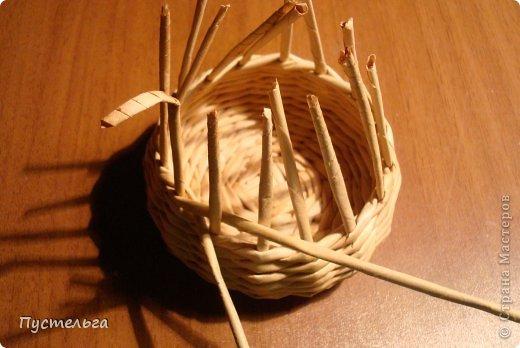 Поделка изделие Плетение Черепашка и снегирь Бумага газетная фото 2