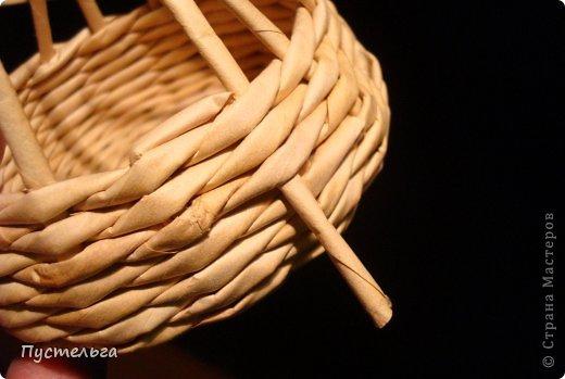 Поделка изделие Плетение Черепашка и снегирь Бумага газетная фото 4