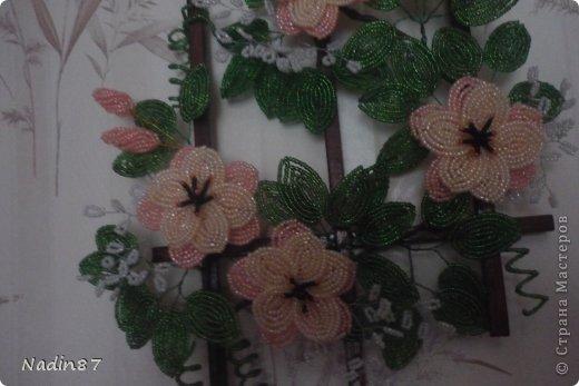 Картина панно рисунок Бисероплетение Панно из бисера Бисер фото 2.