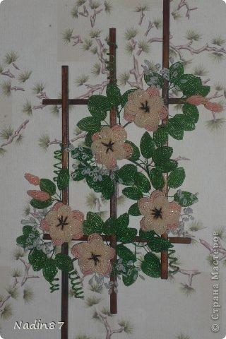 Картина панно рисунок Бисероплетение Панно из бисера Бисер фото 3.