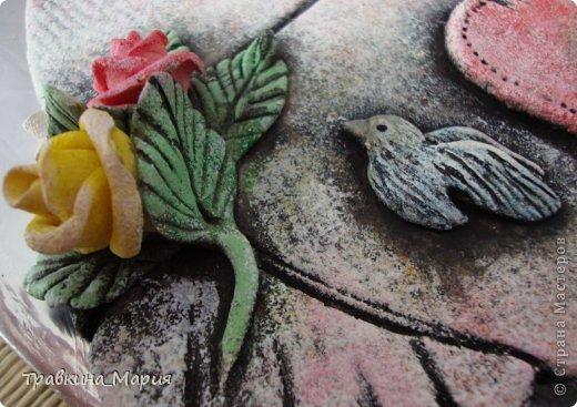 Поделка изделие Валентинов день Лепка Рыбка-Любовь Тесто соленое фото 9