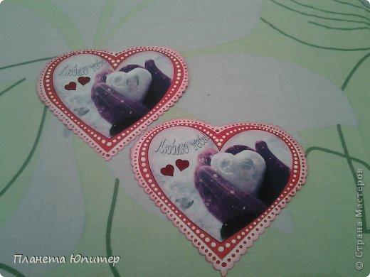 Всем добрый день! Сегодня я с подарками для нас с мужем ко Дню влюбленных... Он небольшой, но от всего сердца! фото 2