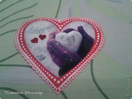Всем добрый день! Сегодня я с подарками для нас с мужем ко Дню влюбленных... Он небольшой, но от всего сердца! фото 3