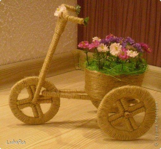 Топиарий для велосипеда