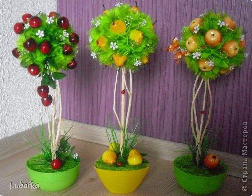 О фруктовом топиарии