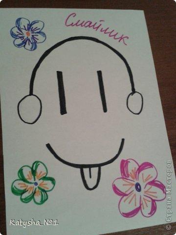 рисунки карандашом смайлики: