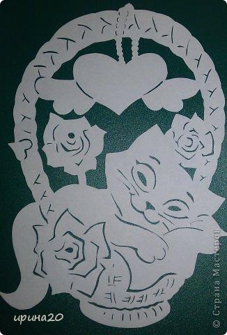 Валентинов день Вырезание К Дню святого Валентина 2 Бумага фото 5