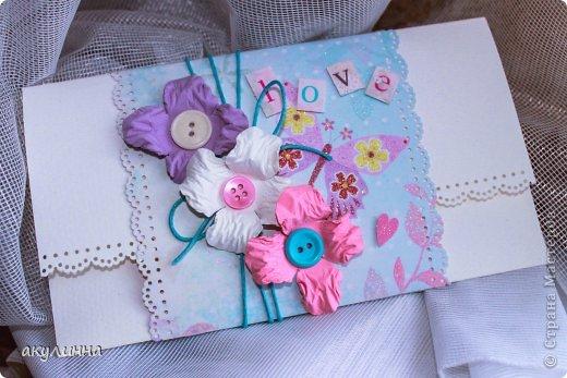 Свадебный подарочный конверт