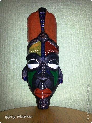 Из чего сделана африканская маска