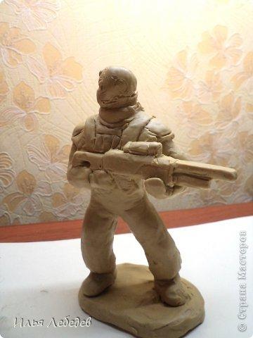 Солдатики из глины своими руками