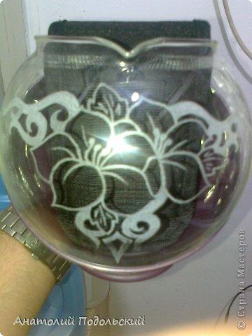 Декор предметов Гравировка чайник для заварки Стекло фото 4