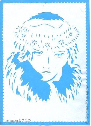 Картина панно рисунок Вырезание Ой заразилась вытынанки Бумага фото 1