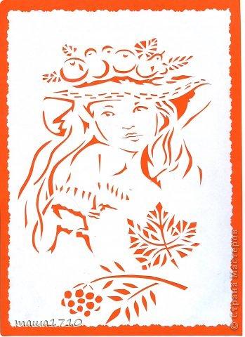 Картина панно рисунок Вырезание Ой заразилась вытынанки Бумага фото 4