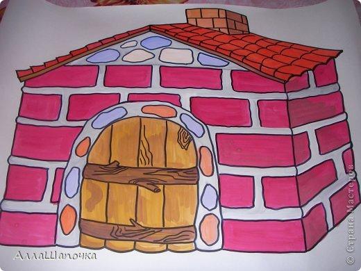 Рисовать дом своими руками