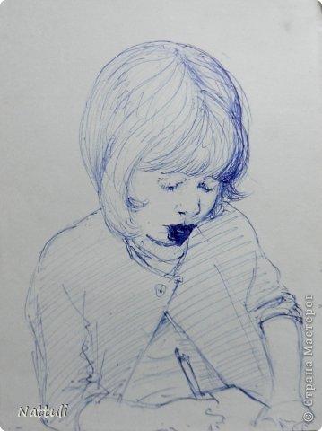 Картина панно рисунок Рисование и живопись Жизнь в картинках 3 Карандаш фото 7.