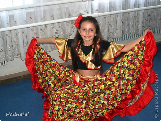 Костюм цыганки своими руками быстро фото из подручных средств