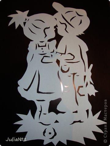 Вырезание вытынанки Валентинки Бумага фото 1
