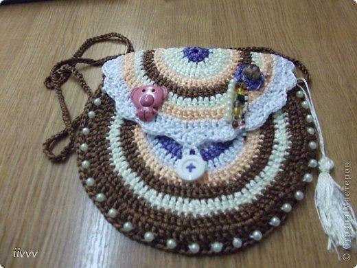 В подарок девочке родилась вот такая сумочка по мотивам Вендулы Модерска