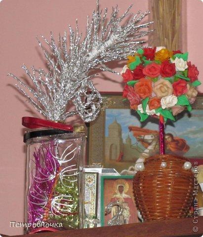 После елочек я увлеклась цветами из фольги, почти все уже раздарила по многочисленным просьбам. фото 3