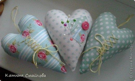 Сшить сердечко из ткани