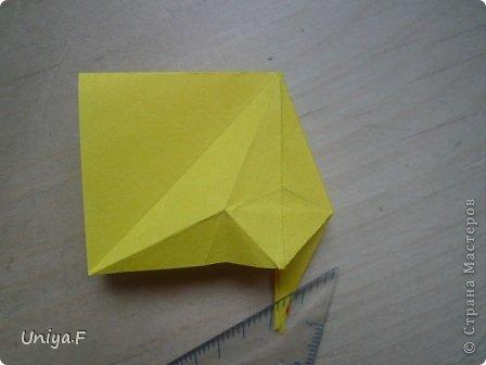 Привет друзьям!  Кусудама, про которую я решилась вам напомнить, была придумана год назад. И в силу определенных обстоятельств туториал на нее был размещен в All-origami. И, к большому сожалению, про кусудаму забыли. А она, честное слово, очень красивая. Ее можно сравнить с Монблосс и Азалией Татьяны Высочиной. Такая же цветочная и воздушная.  Поэтому, зная, что вы сейчас готовите весенние подарки, я решила выложить в СМ повторный МК. Буду рада, если он вам пригодится.  Name: Wild Rose Designer: Uniya Filonova Parts: 30 + 60 Paper: 6,5*6,5 + 8,5*8,5 Final height: 12 сm Assembled without glue.  модель принимала участие во флешмобе http://stranamasterov.ru/node/547199?tid=2168%2C850 фото 13