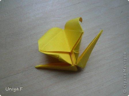 Привет друзьям!  Кусудама, про которую я решилась вам напомнить, была придумана год назад. И в силу определенных обстоятельств туториал на нее был размещен в All-origami. И, к большому сожалению, про кусудаму забыли. А она, честное слово, очень красивая. Ее можно сравнить с Монблосс и Азалией Татьяны Высочиной. Такая же цветочная и воздушная.  Поэтому, зная, что вы сейчас готовите весенние подарки, я решила выложить в СМ повторный МК. Буду рада, если он вам пригодится.  Name: Wild Rose Designer: Uniya Filonova Parts: 30 + 60 Paper: 6,5*6,5 + 8,5*8,5 Final height: 12 сm Assembled without glue.  модель принимала участие во флешмобе http://stranamasterov.ru/node/547199?tid=2168%2C850 фото 27