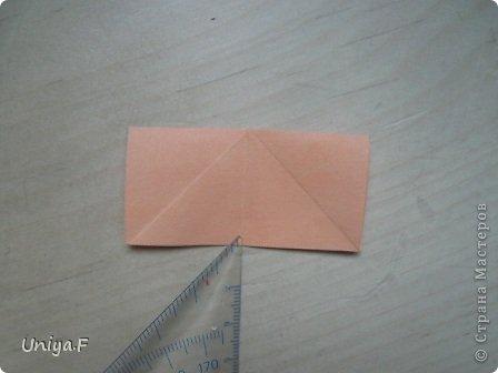 Привет друзьям!  Кусудама, про которую я решилась вам напомнить, была придумана год назад. И в силу определенных обстоятельств туториал на нее был размещен в All-origami. И, к большому сожалению, про кусудаму забыли. А она, честное слово, очень красивая. Ее можно сравнить с Монблосс и Азалией Татьяны Высочиной. Такая же цветочная и воздушная.  Поэтому, зная, что вы сейчас готовите весенние подарки, я решила выложить в СМ повторный МК. Буду рада, если он вам пригодится.  Name: Wild Rose Designer: Uniya Filonova Parts: 30 + 60 Paper: 6,5*6,5 + 8,5*8,5 Final height: 12 сm Assembled without glue.  модель принимала участие во флешмобе http://stranamasterov.ru/node/547199?tid=2168%2C850 фото 29