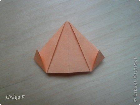 Привет друзьям!  Кусудама, про которую я решилась вам напомнить, была придумана год назад. И в силу определенных обстоятельств туториал на нее был размещен в All-origami. И, к большому сожалению, про кусудаму забыли. А она, честное слово, очень красивая. Ее можно сравнить с Монблосс и Азалией Татьяны Высочиной. Такая же цветочная и воздушная.  Поэтому, зная, что вы сейчас готовите весенние подарки, я решила выложить в СМ повторный МК. Буду рада, если он вам пригодится.  Name: Wild Rose Designer: Uniya Filonova Parts: 30 + 60 Paper: 6,5*6,5 + 8,5*8,5 Final height: 12 сm Assembled without glue.  модель принимала участие во флешмобе http://stranamasterov.ru/node/547199?tid=2168%2C850 фото 33