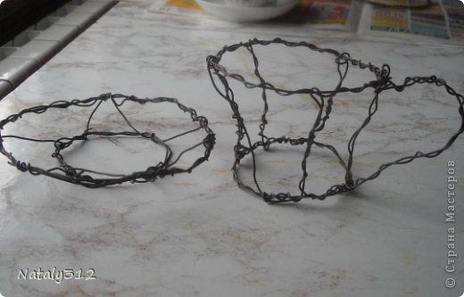 Выполняю обещание, выкладываю МК по сотворению чашки с блюдцем из сизаля. Помогала мне в этом мамуля, спасибо ей огромное! Под материалом природным подразумевается сизаль. фото 5
