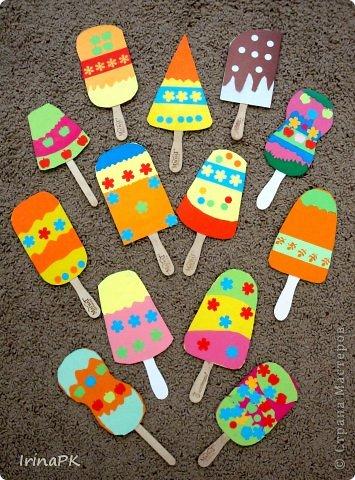 Поделка мороженое