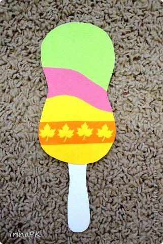 Поделка мороженое из цветной бумаги 20