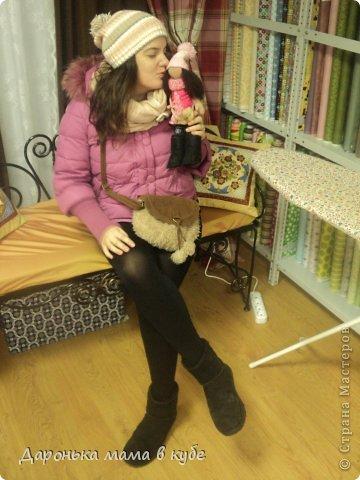Куклы День рождения Шитьё Большеголовка Портретная  Ткань фото 4