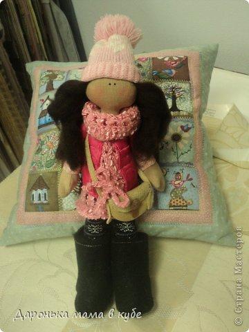 Куклы День рождения Шитьё Большеголовка Портретная  Ткань фото 1