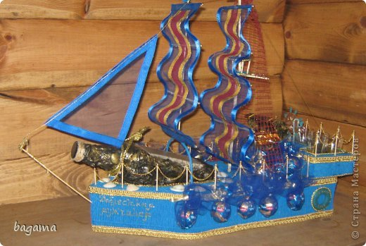 Корабль для мужчин   Страна Мастеров: http://stranamasterov.ru/node/518836