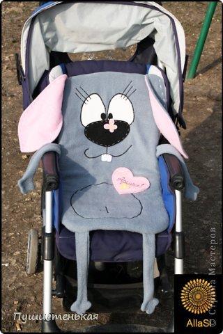 Котик-коврик в коляску доченьки! фото 3
