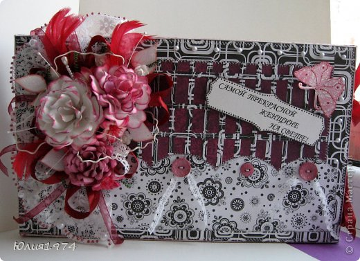Подарочные коробки  с конфетами для самых обаятельных и милых женщин. фото 16
