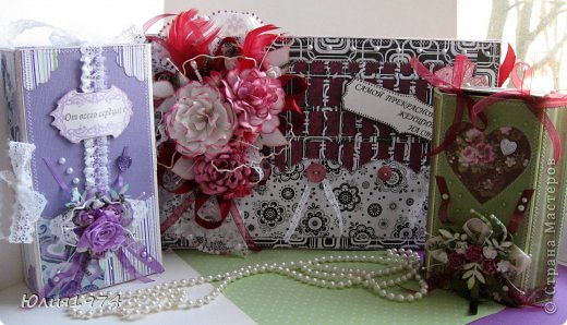 Подарочные коробки  с конфетами для самых обаятельных и милых женщин. фото 25