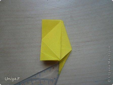 Привет друзьям!  Кусудама, про которую я решилась вам напомнить, была придумана год назад. И в силу определенных обстоятельств туториал на нее был размещен в All-origami. И, к большому сожалению, про кусудаму забыли. А она, честное слово, очень красивая. Ее можно сравнить с Монблосс и Азалией Татьяны Высочиной. Такая же цветочная и воздушная.  Поэтому, зная, что вы сейчас готовите весенние подарки, я решила выложить в СМ повторный МК. Буду рада, если он вам пригодится.  Name: Wild Rose Designer: Uniya Filonova Parts: 30 + 60 Paper: 6,5*6,5 + 8,5*8,5 Final height: 12 сm Assembled without glue.  модель принимала участие во флешмобе http://stranamasterov.ru/node/547199?tid=2168%2C850 фото 20