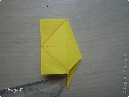 Привет друзьям!  Кусудама, про которую я решилась вам напомнить, была придумана год назад. И в силу определенных обстоятельств туториал на нее был размещен в All-origami. И, к большому сожалению, про кусудаму забыли. А она, честное слово, очень красивая. Ее можно сравнить с Монблосс и Азалией Татьяны Высочиной. Такая же цветочная и воздушная.  Поэтому, зная, что вы сейчас готовите весенние подарки, я решила выложить в СМ повторный МК. Буду рада, если он вам пригодится.  Name: Wild Rose Designer: Uniya Filonova Parts: 30 + 60 Paper: 6,5*6,5 + 8,5*8,5 Final height: 12 сm Assembled without glue.  модель принимала участие во флешмобе http://stranamasterov.ru/node/547199?tid=2168%2C850 фото 21