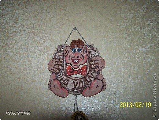 Картина панно рисунок Лепка Начало моего творчества Тесто соленое фото 2