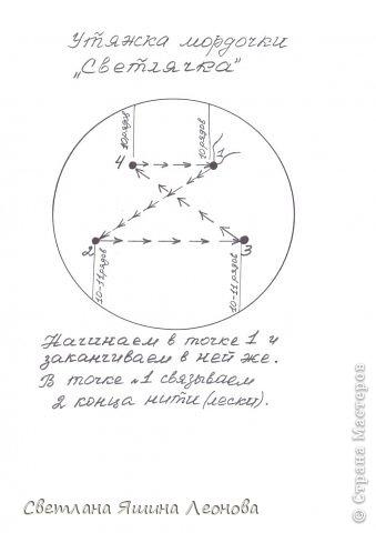 Игрушка Мастер-класс Вязание крючком Светлячок МК Пряжа фото 7