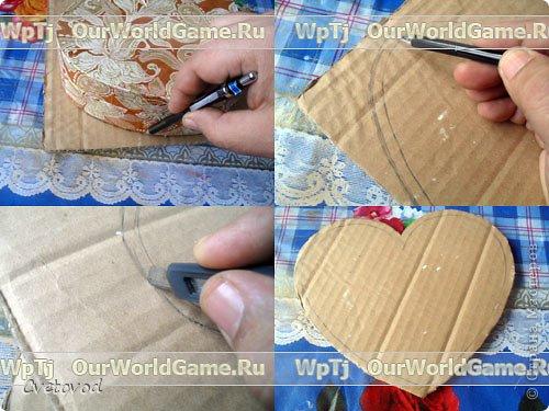 Шкатулка для швейных принадлежностей в виде сердца - оригинальный подарок на день Валентина и 8 марта. Сюрприз для рукодельницы фото 2