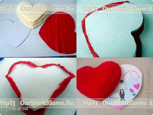 Шкатулка для швейных принадлежностей в виде сердца - оригинальный подарок на день Валентина и 8 марта. Сюрприз для рукодельницы фото 15
