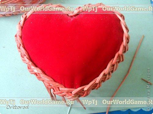 Шкатулка для швейных принадлежностей в виде сердца - оригинальный подарок на день Валентина и 8 марта. Сюрприз для рукодельницы фото 18