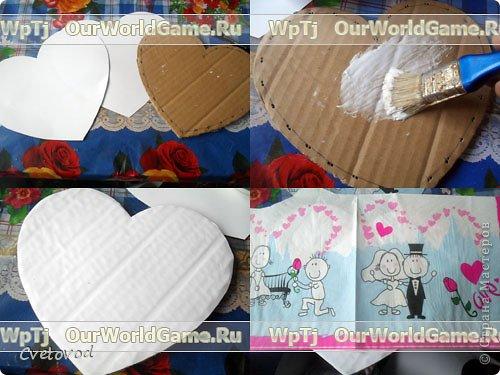 Шкатулка для швейных принадлежностей в виде сердца - оригинальный подарок на день Валентина и 8 марта. Сюрприз для рукодельницы фото 4