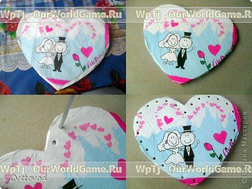 Шкатулка для швейных принадлежностей в виде сердца - оригинальный подарок на день Валентина и 8 марта. Сюрприз для рукодельницы фото 5