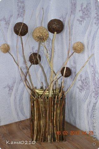 Композиции из веток для вазы своими руками